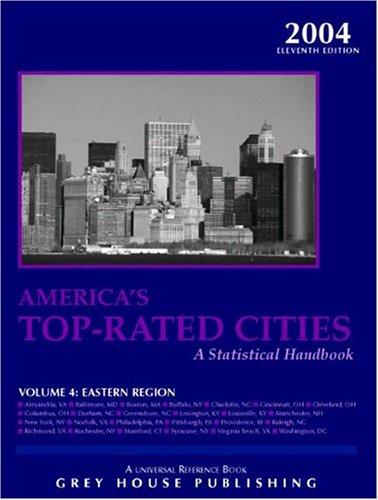 America s Top Rated Cities: Eastern Region, Volume 4 (Paperback)
