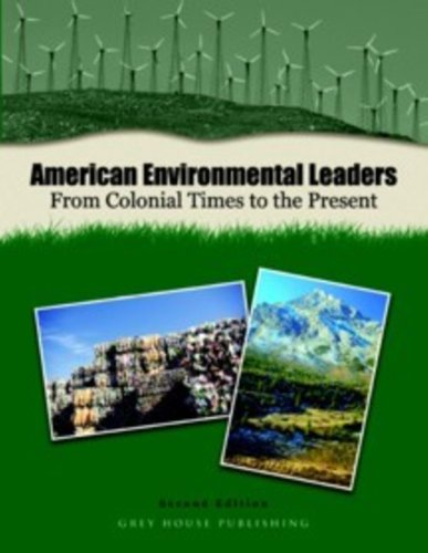 American Environmental Leaders 2 Vol Set: Anne Becher, Joseph