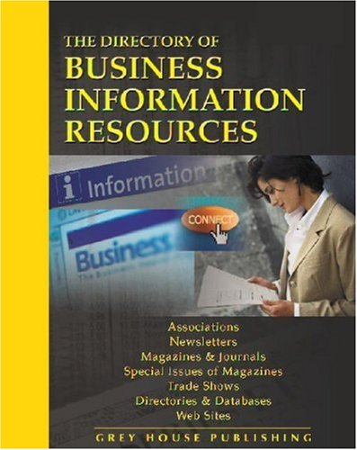 Directory of Business Information Resources (Paperback)