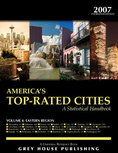 America s Top-Rated Cities, Vol. 4 East (Paperback)