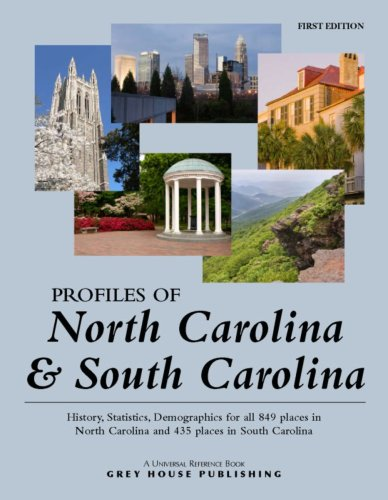 Profiles of North Carolina South Carolina (Paperback)