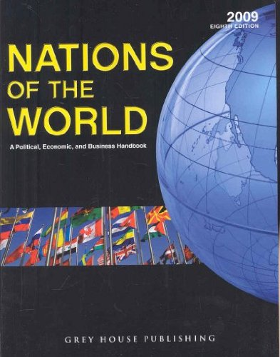 9781592372737: Nations of the World 2009: A Political, Economic & Business Handbook