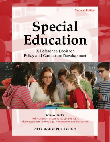 9781592372928: Special Education: A Reference Handbook for Policy and Curriculum Development