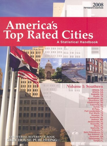 America s Top Rated Cities, Volume 1: Southern: A Statistical Handbook (Paperback)