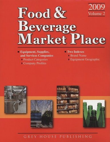 Suppliers (Thomas Food and Beverage Market Place Volume 2) (Thomas Food & Beverage Market Place...