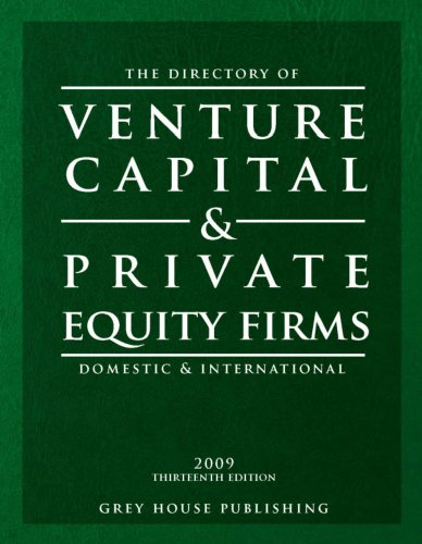 Directory of Venture Capital Private Equity Firms, 2009 (Paperback): Laura Mars-Proietti