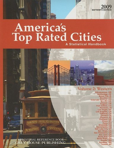 America s Top Rated Cities, Volume 2: Western: A Statistical Handbook (Paperback)