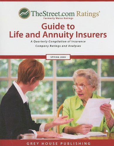 Thestreet.com Ratings Guide to Life and Annuity Insurers: Winter 2008/09 (Paperback): Laura ...