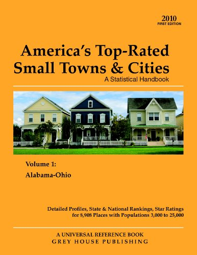9781592375974: America's Top-Rated Small Towns & Cities Statistical Handbook, 2-Volume Set