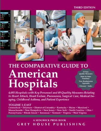 9781592378388: The Comparative Guide To American Hospitals (4 Volume Set) (Comparative Guide to American Hospitals (4 Vols))