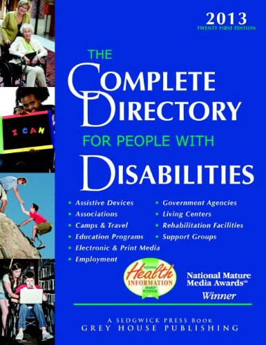 9781592378722: The Complete Directory for People With Disabilities 2013: A Comprehensive Source Book for Individuals and Professionals