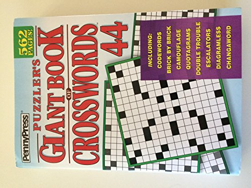 9781592380060: Puzzlers Giant Book of Crosswords Volume 44