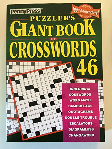 9781592380213: Penny Press Puzzlers Giant Book of Crosswords Volume 46