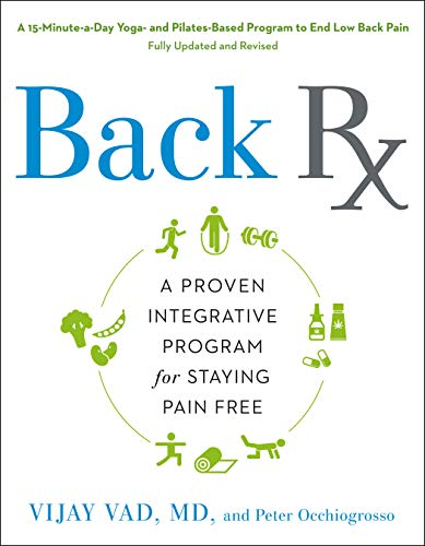 9781592400454: Back RX: A 15-Minute-a-Day Yoga- and Pilates-Based Program to End Low Back Pain