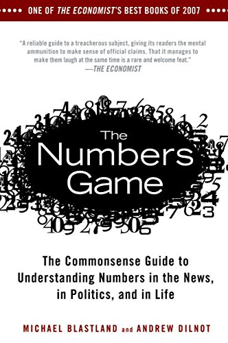 9781592404858: The Numbers Game: The Commonsense Guide to Understanding Numbers in the News,in Politics, and in L ife