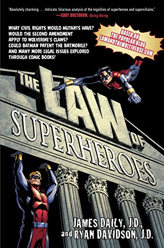 9781592408399: The Law of Superheroes