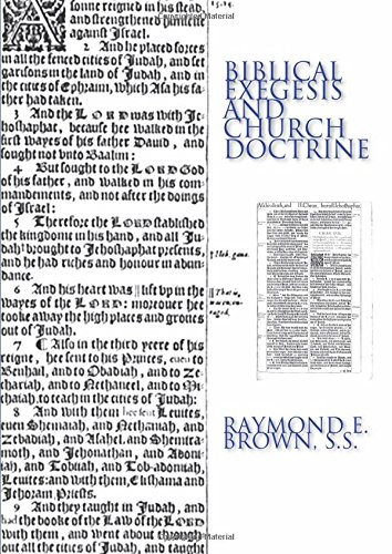 9781592440245: Biblical Exegesis and Church Doctrine: