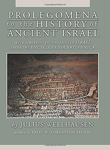 9781592443383: Prolegomena to the History of Ancient Israel: