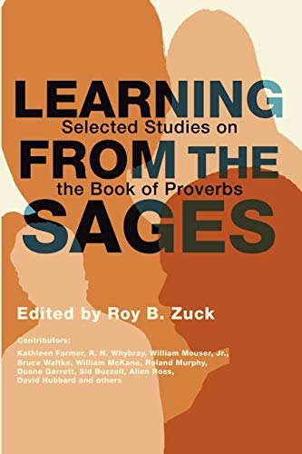 9781592443970: Learning from the Sages: Selected Studies on the Book of Proverbs