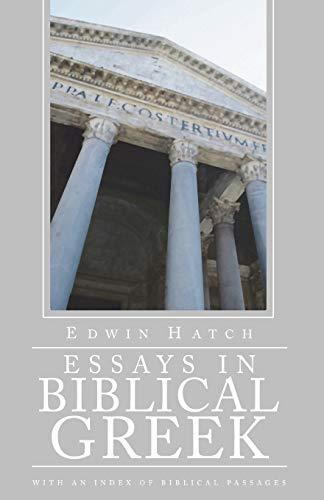 9781592444670: Essays in Biblical Greek: