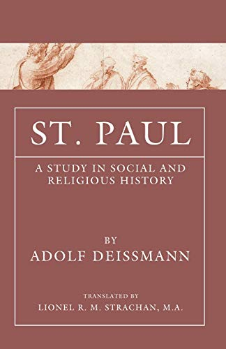 9781592444717: St. Paul: A Study in Social and Religious History