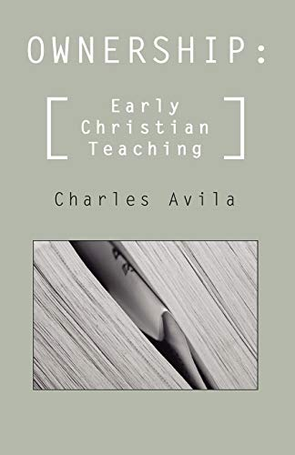 9781592447282: Ownership: Early Christian Teaching: