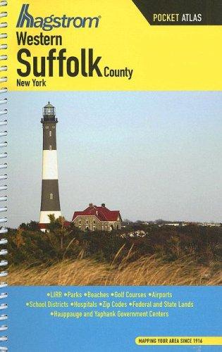Hagstrom Western Suffolk County, New York Pocket Atlas