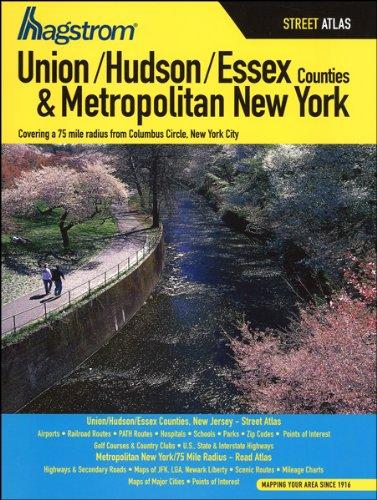 Hagstrom Union/Hudson/Essex Counties & Metropolitan New York Street Atlas (Hagstrom Atlas Union...