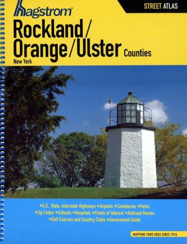 9781592450558: Hagstrom Rockland/Orange/Ulster Counties Street Atlas