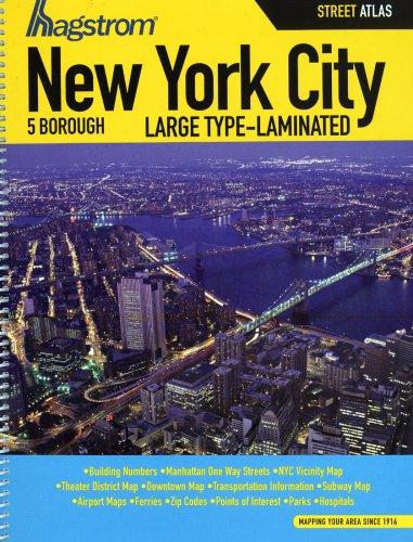 9781592450725: New York City 5 Borough Street Atlas