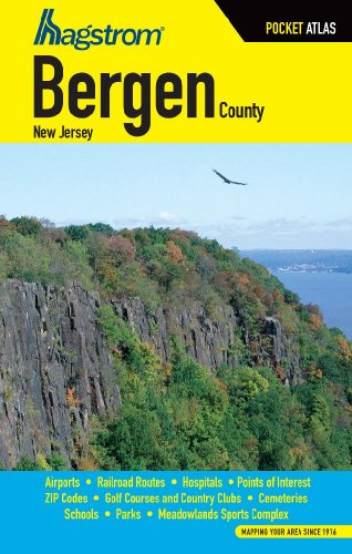 9781592450824: Bergen County NJ Pocket Atlas
