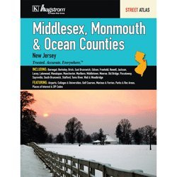 9781592450916: Middlesex Monmouth Ocean Counties NJ Atlas