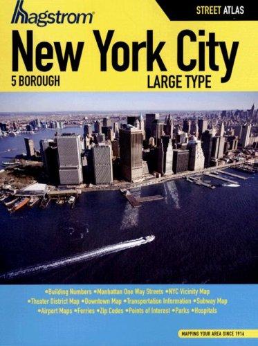 9781592459094: Hagstrom New York City 5 Borough Atlas (HAGSTROM NEW YORK CITY FIVE BOROUGH ATLAS)