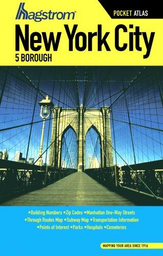 9781592459100: Hagstrom New York City 5 Borough Atlas