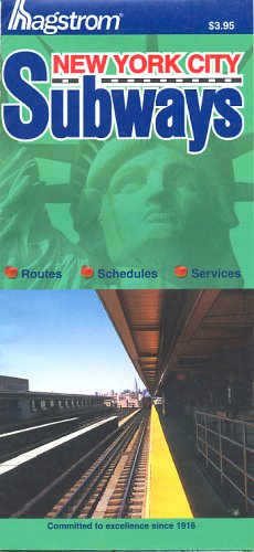 9781592459674: Hagstrom New York City Subways Map
