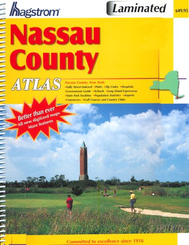9781592459759: Hagstrom Nassau County Atlas (Hagstrom Nassau County Atlas: New York (Spiral/Laminated))