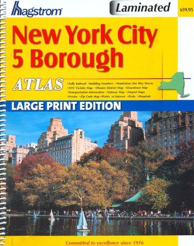 9781592459902: Hagstrom New York City 5 Boro Atlas: Large Type