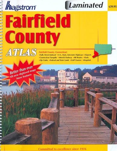Fairfield County Atlas (Hagstrom Fairfield County Atlas Large Scale Edition): Hagstrom Map Co.