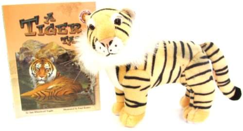 9781592490578: A Tiger Tale - An Amazing Animal Adventures Book (Mini book with stuffed toy animal)