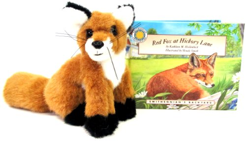 9781592491209: Red Fox at Hickory Lane (Smithsonian's Backyard Book & Toy Set) (Mini book with stuffed toy animal)