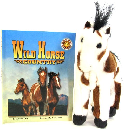 9781592491407: Wild Horse Country [With Plush] (Amazing Animal Adventures)
