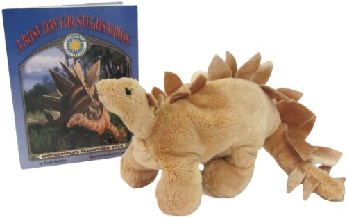 9781592491568: A Busy Day for Stegosaurus - a Smithsonian Prehistoric Pals Book (Mini book with stuffed toy dinosaur) (Smithsonian's Prehistoric Pals)