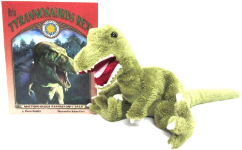 9781592491605: It's Tyrannosaurus Rex! (Prehistoric Pals Book & Toy Set) (Mini book with stuffed toy dinosaur) (Smithsonian's Prehistoric Pals)
