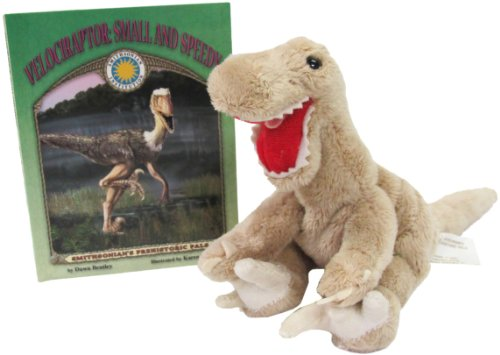 9781592491643: Velociraptor: Small and Speedy (Prehistoric Pals Book & Toy Set) (Mini book with stuffed toy dinosaur) (Smithsonian's Prehistoric Pals)