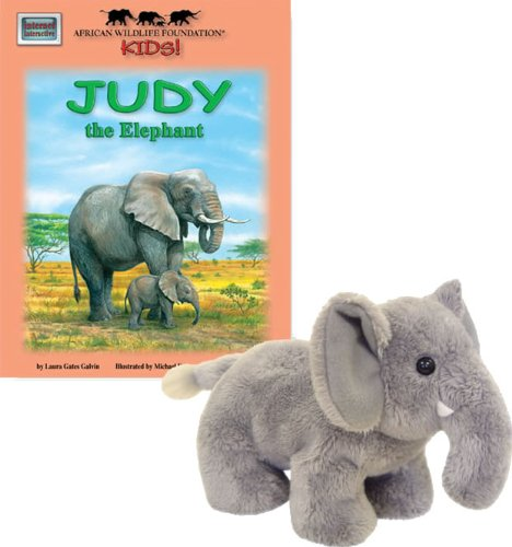 9781592491728: Judy the Elephant - An African Wildlife Foundation Story (Mini book with stuffed toy) (African Wildlife Foundation Kids!) (Meet Africas Animals)