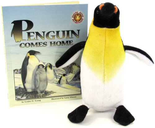 9781592493296: Penguin Comes Home (An Amazing Animal Adventures Book & Toy Set) (Mini book with stuffed toy animal)
