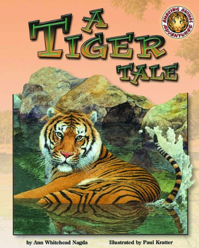 9781592493890: A Tiger Tale - An Amazing Animal Adventures Book (with poster and cassette tape)