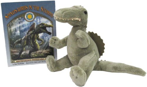 9781592494620: Spinosaurus in the Storm - a Smithsonian Prehistoric Pals Book (Mini book with stuffed toy dinosaur) (Smithsonian's Prehistoric Pals)