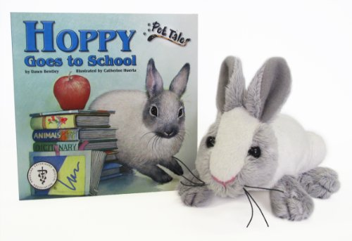 Hoppy Goes to School (Micro Paperback Book, Toy) (1592495591) by Bentley, Dawn