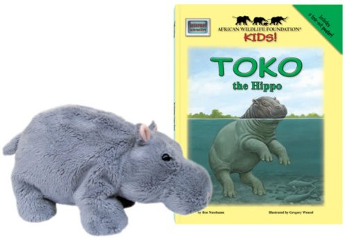9781592495818: Toko the Hippo - An African Wildlife Foundation Story (Mini book with stuffed toy) (African Wildlife Foundation Kids!) (Meet Africas Animals)